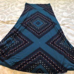 Mossimo Maxi Skirt Size Medium
